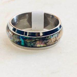Jewelry - Tortoise Shell Abalone Iridescent Ring